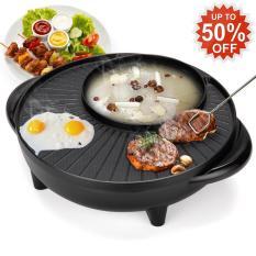 Bếp Lẩu Nướng Đa Năng 2 In 1 Thiết Kế Phong Cách Hàn Quốc ( Loại Tốt ) – Bảo Hành Uy Tín Bởi Demeter Store