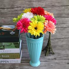 Bó 10 bông hoa giả hoa nhựa cúc nhiều màu – HPMFLowerPlastic