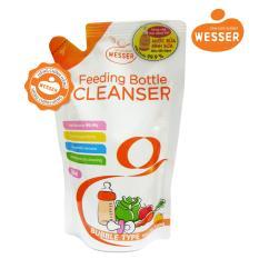 Nước rửa bình sữa Wesser dạng gói 500ml (Nhập khẩu)