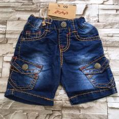 Quần Sọt Jeans Chỉ To Túi Hộp – Qt45