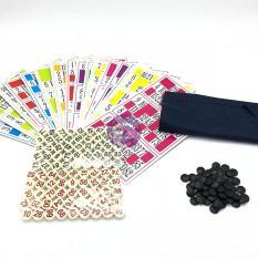 Hộp trò chơi kêu Lô Tô 90 số bằng giấy và Melamine cao cấp – ĐỒ CHƠI CHỢ LỚN