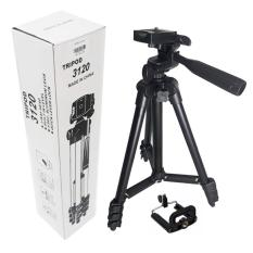 Chân máy ảnh Tripod 3120 Mẫu Mới nhất 2018 tặng kèm đầu kẹp- Loại Tốt BẢO HÀNH 1 ĐỔI 1