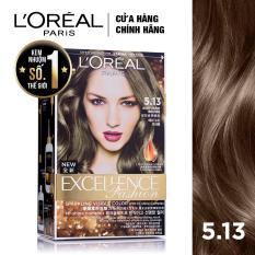 Kem nhuộm dưỡng tóc L'Oreal Paris Excellence Fashion màu #5.13 172ml (Nâu ánh tro)