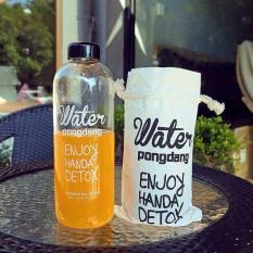 BÌNH NƯỚC DETOX Water PongDang 1L + TÚI ĐỰNG