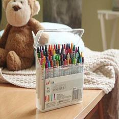 Hộp bút màu sáp 64 màu cho bé