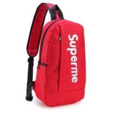 Túi đeo chéo in chữ Superme Trung (Đỏ)