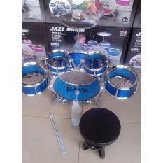 Bộ Trống Jazz Drum 5 chiếc đi kèm ghế