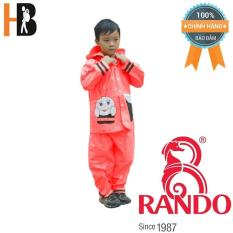 Áo mưa trẻ em bộ ong mật Rando CSPS-21 Size 6 1.5 – 1.6 m