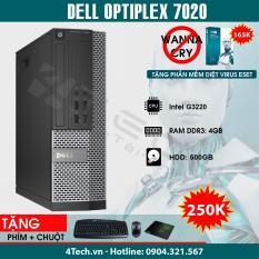 Máy Tính Đồng Bộ Dell Optiplex 7020 Intel Pentium G3220/ i3-4130 / i5-4570 / i7-4770 – Tặng bộ thu phát Wifi.