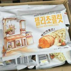 Bánh Yến Mạch cuộn Phô Mai Hạt Dẻ 300g Bộ 3 bịch 900g