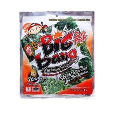 Combo 4 Gói Snack Rong biển Taokaenoi Nướng Big Bang vị Mực 6g