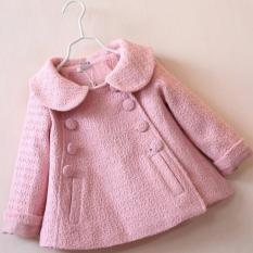Áo khoác dạ cho bé gái từ 10 tới 28 kg