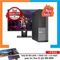 Combo Máy tính chơi Game DELL OPTIPLEX 7010 SFF + Màn hình Dell 24inch Full HD Nguyên Bản, Chạy CPU Core I5 3470, Ram 8GB, HDD 1TB + Bộ Quà Tặng