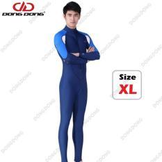 Quần áo lặn biển dài tay NAM – Size XL, cản tia UV 99% (UPF50+), chống nắng cao cấp – DONGDONG