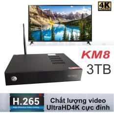Đầu karaoke Acnos KM8 UltraHD 4K Sẵn Ổ Cứng Nhạc 3TB