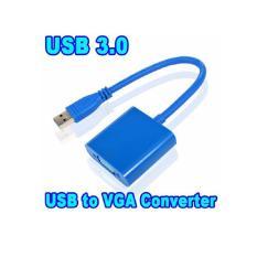 Cáp chuyển đổi tín hiệu USB sang VGA OEM Gia Bách