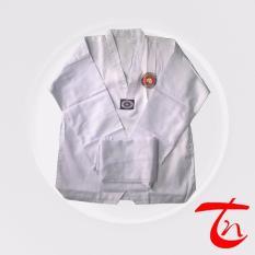 Võ phục quần áo Taekwondo vải kaki giá rẻ