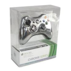 Tay cầm chơi game Xbox 360 không dây (Bạc)