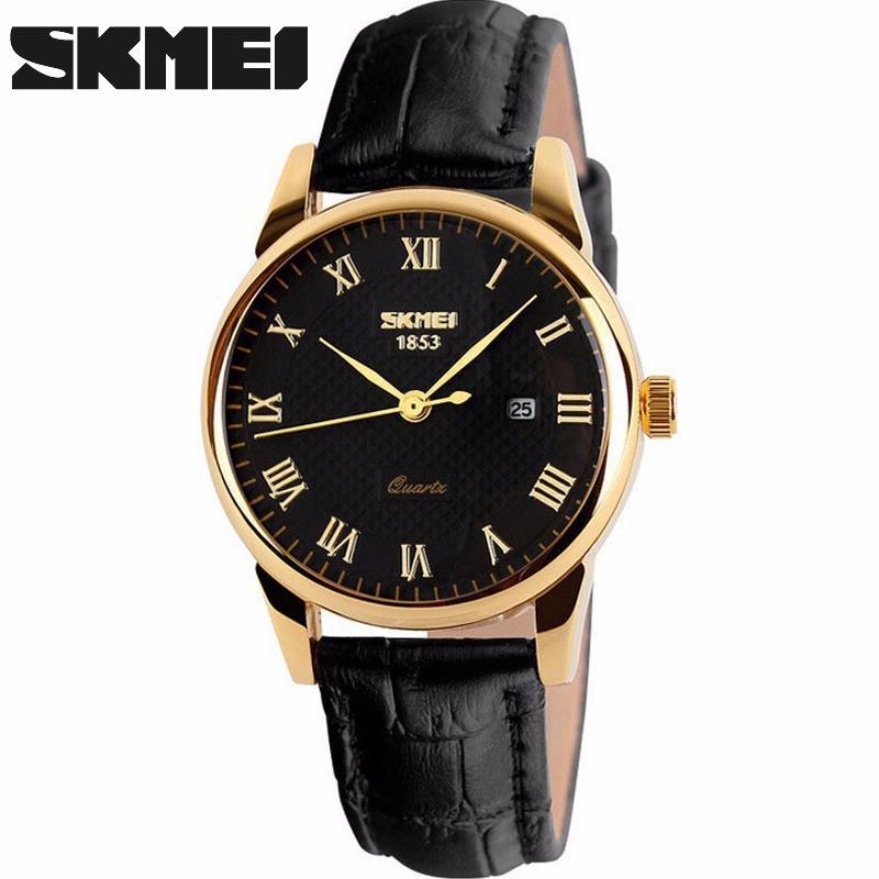 Cách mua Đồng hồ nam SKMEI dây da số la mã SK9058