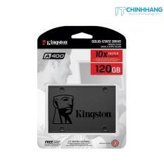 """Ổ cứng SSD Kingston SA400 SATA 3 2.5"""" 120GB (Xám đen) – HÃNG PHÂN PHỐI CHÍNH THỨC"""