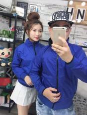 áo khoác dù 2 mặt nam nữ thời trang TP011