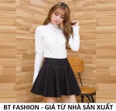 Chân Váy Xòe Ngắn Duyên Dáng Thời Trang Hàn Quốc – BT Fashion (VA01)