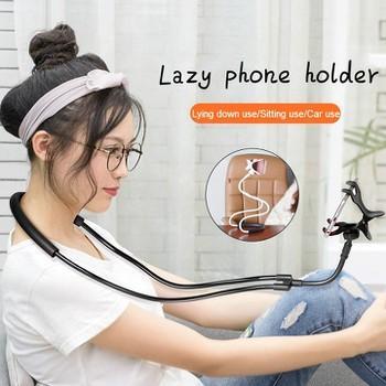 Kẹp điện thoại choàng cổ