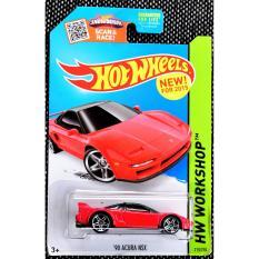 Ô tô mô hình tỉ lệ 1:64 Hot Wheels '90 Acura NSX 218/250 ( Màu Đỏ )