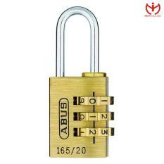 Ổ khóa số vali ABUS 165/20 thân đồng rộng 20mm dòng khóa hành lý – MSOFT