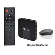 Android TV Box Tanix TX3 Mini Ram2G 4k 3D Tặng Kèm Chuột Không Dây Trị Giá 150k
