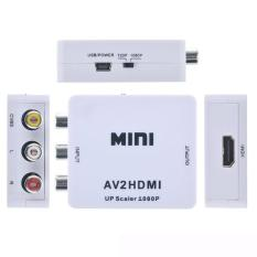 Thiết bị chuyển đổi AV sang HDMI full 1080p (Trắng)