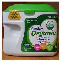 Sữa Similac Advance Organic hữu cơ dành cho bé từ 0-12 tháng 658g nhập từ Mỹ