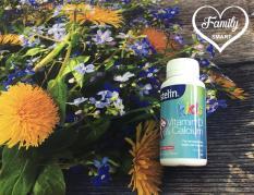 Ostelin Vitamin D & Calcium Kids Chewable bổ sung canxi và vitamin D cho bé lọ 90 viên