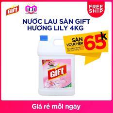 Nước Lau Sàn Gift Hương Lily 4kg