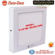 Đèn LED ốp trần 24W Rạng Đông(D LN 08L 30×30/24w) – 6500K S