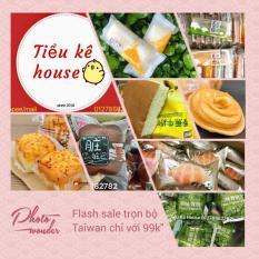Box 30c trọn bộ bánh tươi Đài Loan