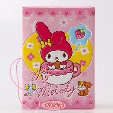 Vỏ hộ chiếu Passport Hoạt Hình Melody 3D