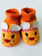 Giày sơ sinh 0-6 tháng tuổi – Cam