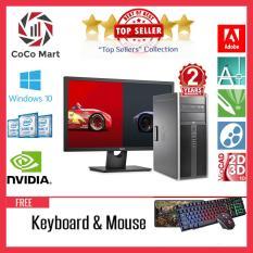 Máy tính đồng bộ HP 8300 Elite MT + Màn hình 27inch Chạy CPU Core I7 3770, Ram 16GB, SSD 240GB, HDD 2TB + Bộ Quà Tặng – Hàng Nhập Khẩu