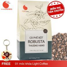 Cà phê bột Robusta nguyên chất 100% thượng hạng – Light Coffee – 500gr