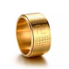 Nhẫn bát nhã tâm kinh Cao cấp – Sang trọng làm bằng Titanium bền màu theo thời gian