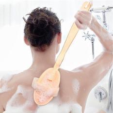 Cây tắm kì lưng massage cán dài. Thiết Kế Nhỏ Gọn