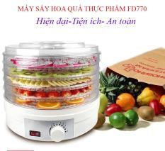 Tủ sấy hoa quả ,Nồi sấy hoa quả – Máy sấy hoa quả thực phẩm FD770 mini đa năng, sấy dẻo, chất lượng, an toàn. Bảo hành 1 đổi 1 dài hạn