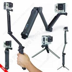 Gậy 3 Way Selfie Gopro có Monopod cho Gopro và SJCAM