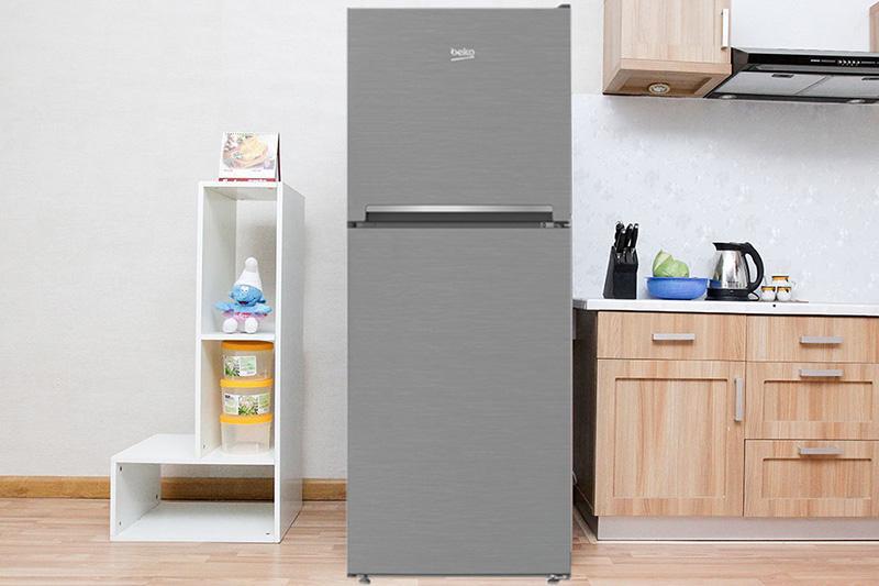 Tủ lạnh Beko 230 lít RDNT230I50VZX – (Bạc)