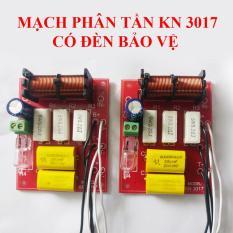 Combo 02 Mạch phân tần và bảo vệ loa KN 3017 có đèn bảo vệ loa