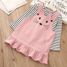 Váy yếm cực đáng yêu cho bé từ 1-6 tuổi