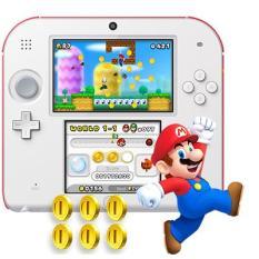 Máy chơi game Nintendo 2DS System with New Super Mario 2