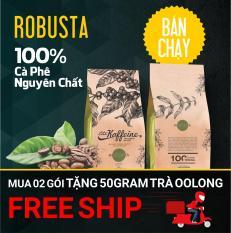 Cà phê Robusta rang xay nguyên chất 500g – The Kaffeine Coffee