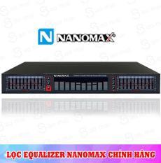 Đầu lọc xì Equalizer Nanomax EQ-665 ( đen )
